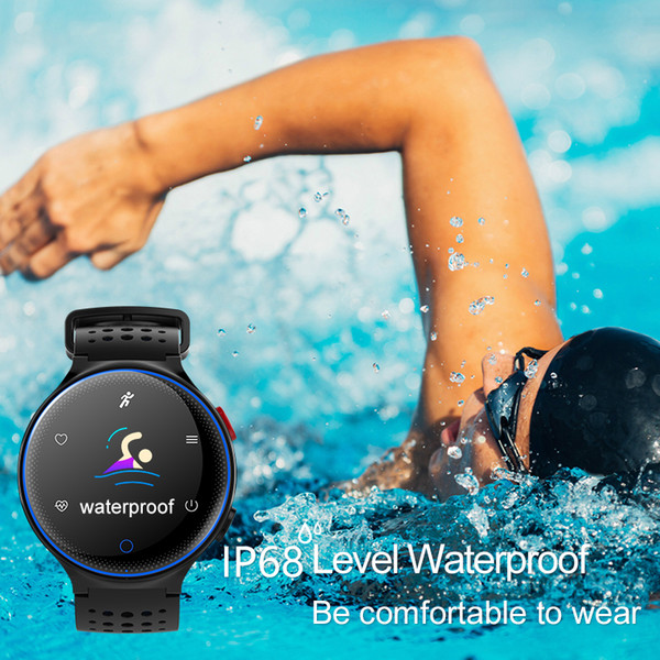IP68 Waterproof Pedometer Blood Pressure Oxygen Heart Rate Monitor Step Counter Outdoor Fitness Running Sport Step Pedometers