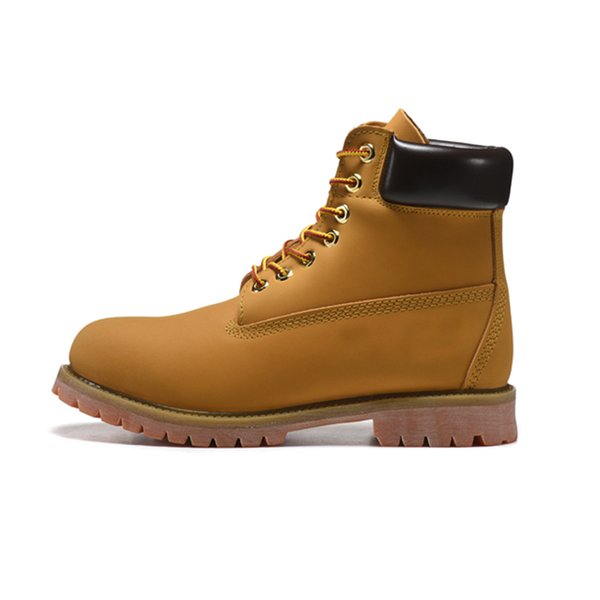 Designer Timberland Boots Shoes for Men Women triple black white chestnut brown navy Classic mens Martin Boot outdoor jogging 36 45