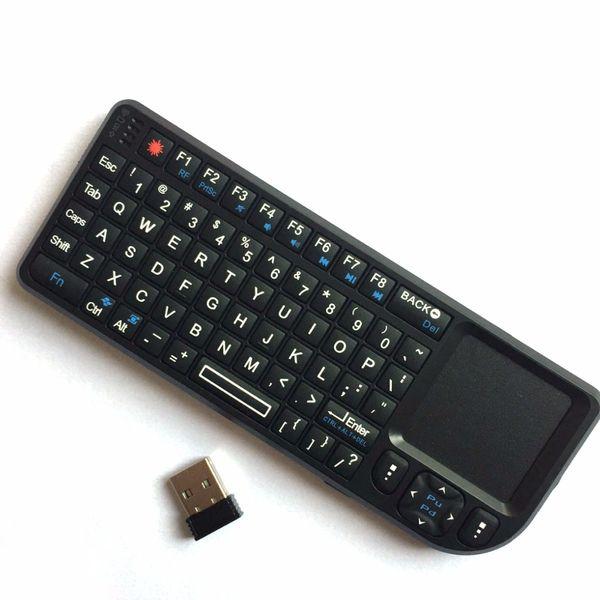 Stummschalten USB Wireless Keyboard Maus Mini Smart ultra dünne Schere Füße Gamer Gaming Keyboards für MAC LAPTOP Android TV BOX