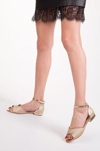 Soho Spun Gold Women Ballerina 12993