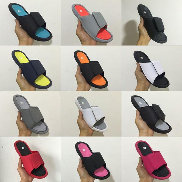 Kırmızı Slayt sandalet Hidro plaj açık erkekler 6s Toptan Jumpman 6 VI terlik rahat koşu spor ayakkabı 05-13 Nisan spor ayakkabılar boyutu 36-47