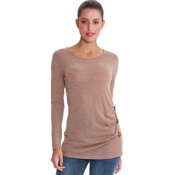 blusa mulheres mulher blusa plus size mulheres moda manga longa M30158