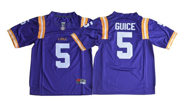 reputable site 68bf7 556fa 2018 2019 5 Derrius Guice Men'S Purple LSU Tigers Limited Jersey College  Football Jerseys Stitched S XXXL QF028XY From Buybestway, $18.42 |  DHgate.Com