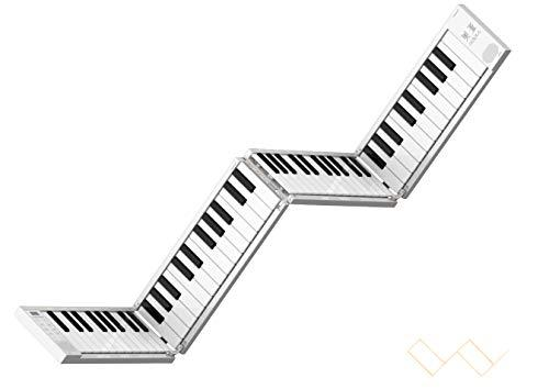 top popular Portable 88-key folding electric piano 2021