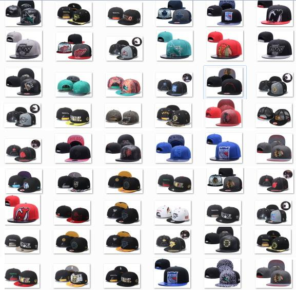 top popular 2020 New Style Ice Hockey Snapback Caps Adjustable Caps Hot Christmas Sale Hats,Great Headwear,Cheap Snapbacks Free DHL Shipping,Vintage Hoc 2021
