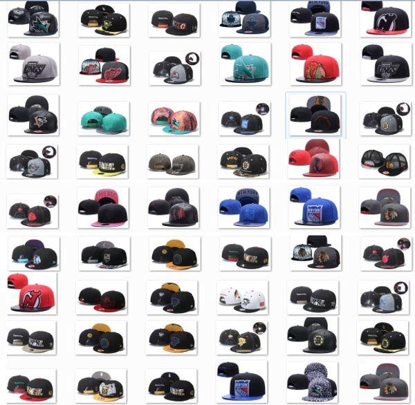 best selling 2020 New Style Ice Hockey Snapback Caps Adjustable Caps Hot Christmas Sale Hats,Great Headwear,Cheap Snapbacks Free DHL Shipping,Vintage Hoc