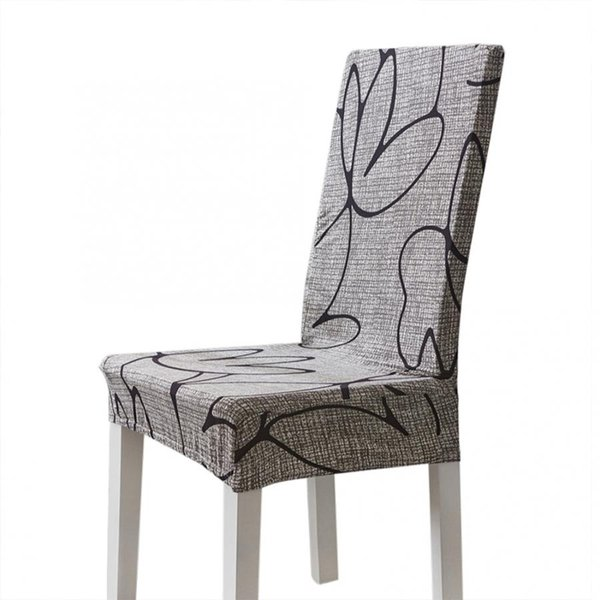 Strange Modern Polyester Print Elastic Chair Cover Removable Protective Covers For Home Wedding Hotel Covers For Chairs New Chair Covers And Sashes For Rent Caraccident5 Cool Chair Designs And Ideas Caraccident5Info