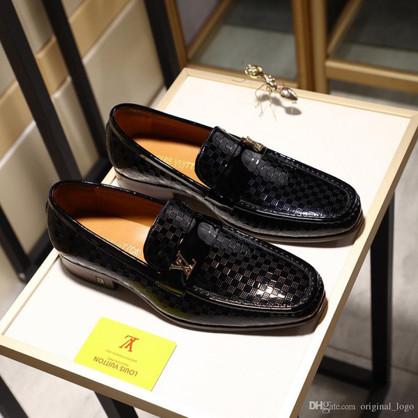 8LouisVuittongucciHommes de luxe de qualité omen Chaussures Casual Véritable 612