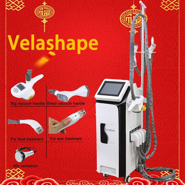 velashape ultrasonic slimming machine cavitation slimming velashape Vacuum Roller machine Vacuum RF weight loss Vertical machine