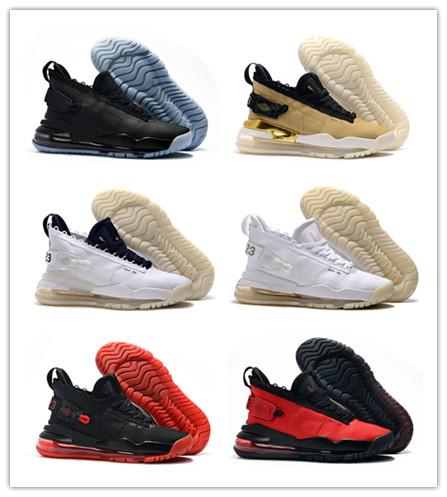 2019 New Fashion Jumpman 23 x Designer 720 Triple Black China Red Roller Shoes Buona qualità Mens Outdoors Sneakers sportive Scarpe taglia 40-46