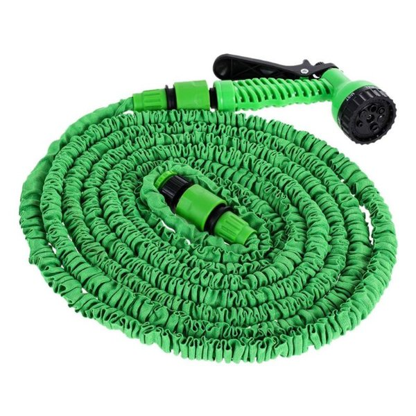 25FT-200FT Expandable Flexible Water Hoses Pipe Watering Spray Gun for Car Garden Multifunctional Car High Pressure Wash Machine