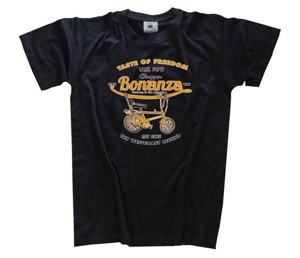 Details zu Taste of freedom - Bonanza Fahrrad Chopper T-Shirt S-XXXL Funny free shipping Unisex Casual