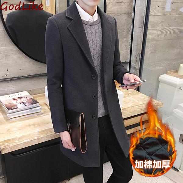 Homem Moda Clássico Trench Grosso Casacos Preto Exército Vermelho 5xl Mens Longo Trincheira Slim Fit Casaco Homens Casacos Outerwear Moda