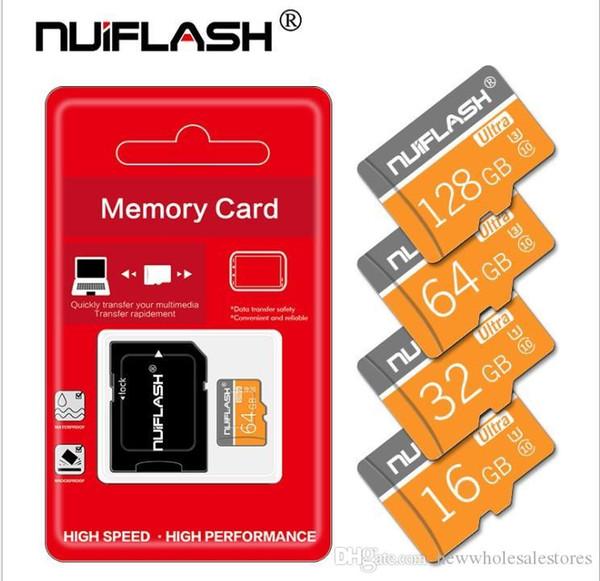 Великобритания Оптовая Высокоскоростная TF Карта памяти 128 ГБ 64 ГБ 32 ГБ 16 ГБ C10 Flash SD Card 8 16 32 64 128 ГБ SD-карты для камеры смартфона