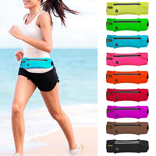 Sports Bag Running Belt Waist Pack - Phone Sports Bag - Workout Fanny Packs for Women Men Outdoor Phone anti-theft Pack Belt#35