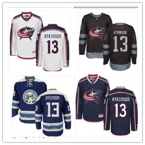 2019 Hockey Jerseys Columbus Blue Jacket men/women/youth best 13 Cam Atkinson Jersey custom name and number free ship baseball wear