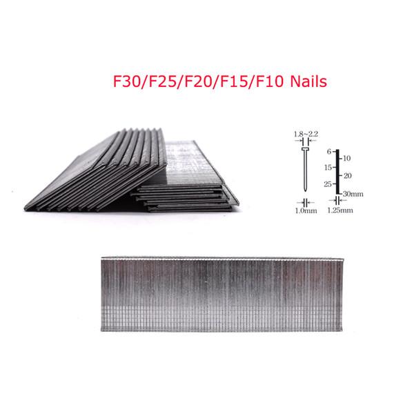 top popular 5000Pcs F30 F25 F20 F15 F10 Nails For Framing Tacker Electric Nails Staple Gun 2020