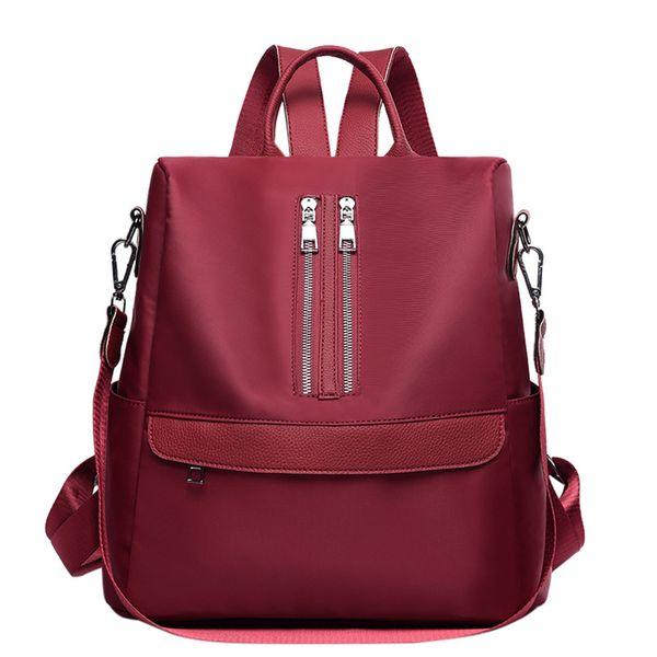 Fashion Damen Oxford Cloth Wilde große Kapazitäts-Rucksack Kursteilnehmer-Beutel-Qualitäts Fester Beutel-Telefon-Tasche Reisetasche # 35