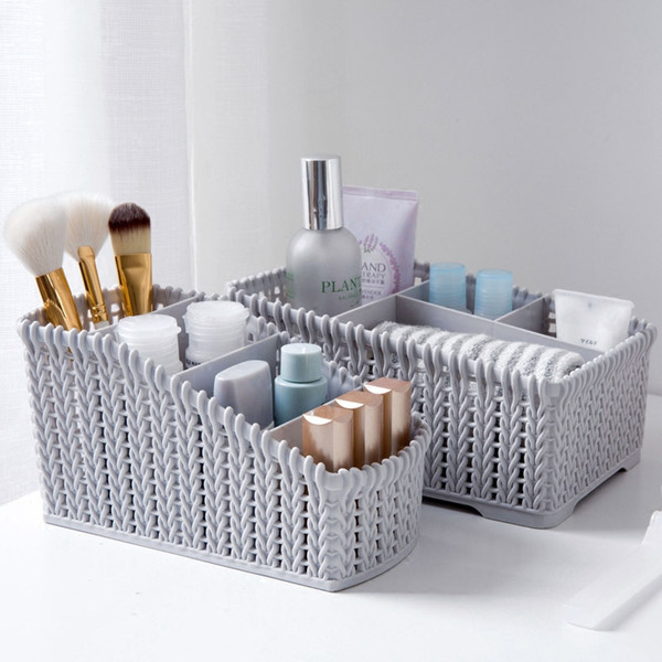 Storage Basket Printing Waterproof Organizer Cotton Storage Box Cabinet Underwear Bag Office Supplies