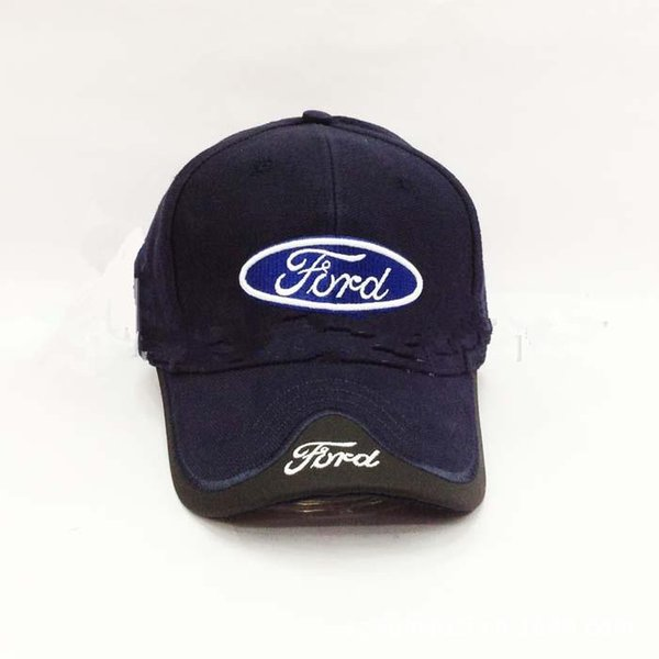 4 Colours Black Blue Red White Headgear For FORD Car cap Wholesale Profession Baseball Cap F1 Racing Cup Leisure Hat Logo Hat