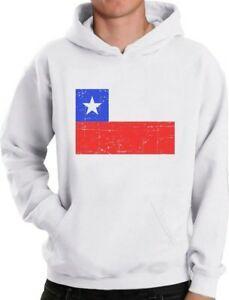 Чили флаг Урожай ретро чилийский флаг балахон чили гордость
