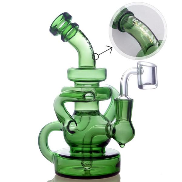 Gili-036 verde con banger quarzo
