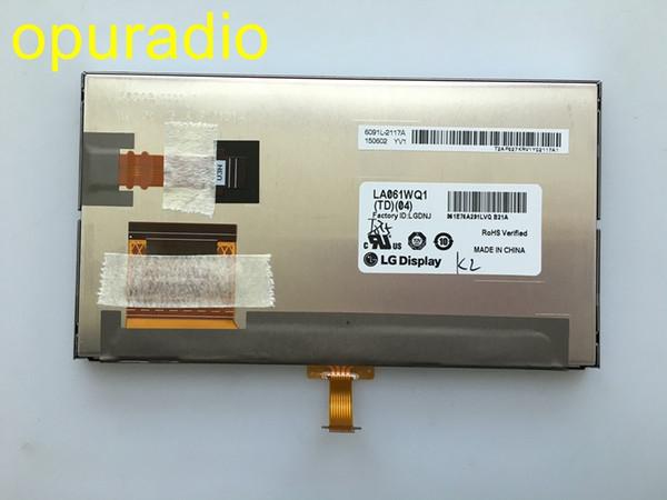 Livraison gratuite originale nouvelle 6.1inch LA061WQ1-TD04 Écran LCD LA061WQ1 (TD) (04) Écran LCD Pour 2014 Toyottta Corolla GPS de voiture