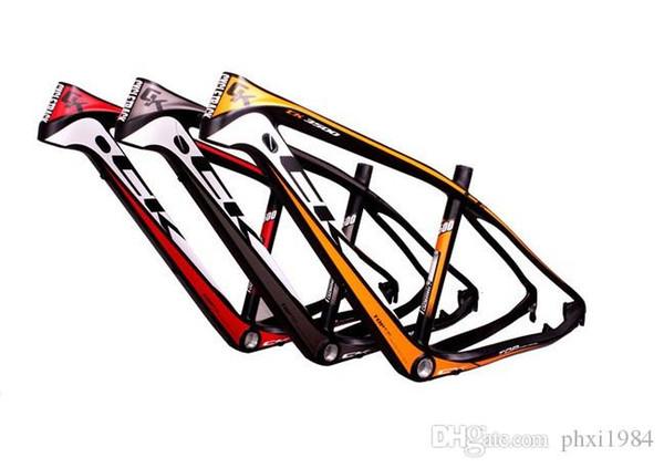 Bicicleta de montaña de carbono Frameset 26er Marco de la bicicleta de carbono mtb chino ck-3500 Marco de fibra de carbono