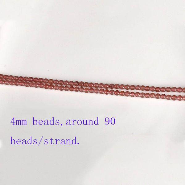 5 strands 4mm beads