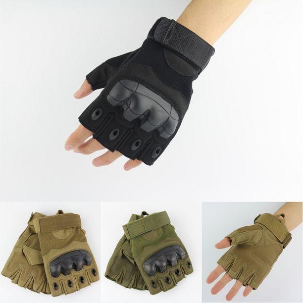 All'ingrosso della fabbrica speciale semi-finger guanti tattici bicicletta equitazione alpinismo combattimento lotta anti-scivolo maschio libero dhl M334Z
