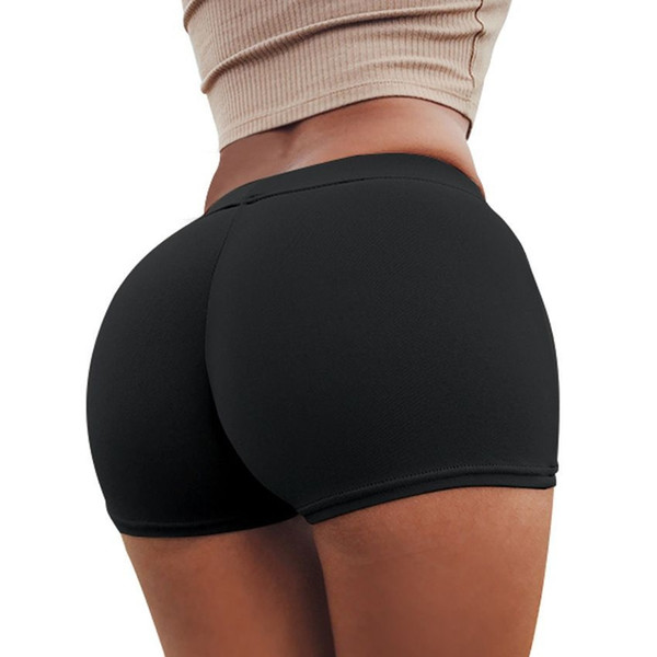 Summer Activewear for Women Peach Hips Shorts Safety Yoga Shorts Athletic Workout Gym Women #376994