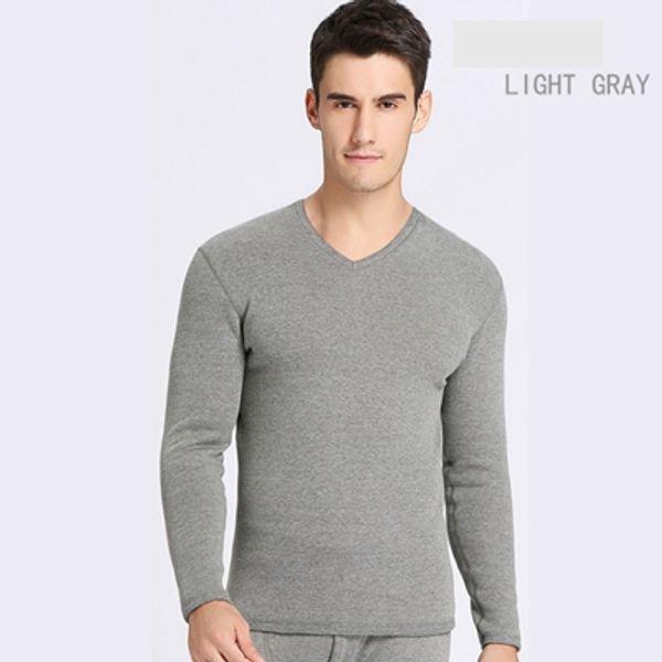V luce collo grigio