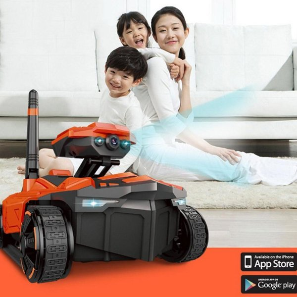 New WIFI RC Tank with HD Camera Phone Remote Control Tank RC Toy Fashion WIFI Toy