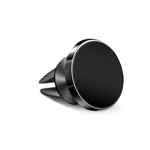 Sıcak Universal Araç Manyetik Mıknatıs Cep Telefonu Tutucu Yüklenmiş GPS Ile Araç Hava Tahliye Için Ücretsiz Nakliye Ile