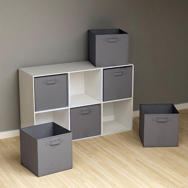 folding Non-Woven Fabric storage box Closet Cubes Bins Organizer kid toy storage bins Offices for Home Organization