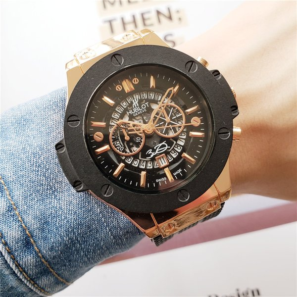 d235b14ce351 Nuevo reloj de alta calidad famoso top reloj de 44mm para hombres y mujeres  cinturón de