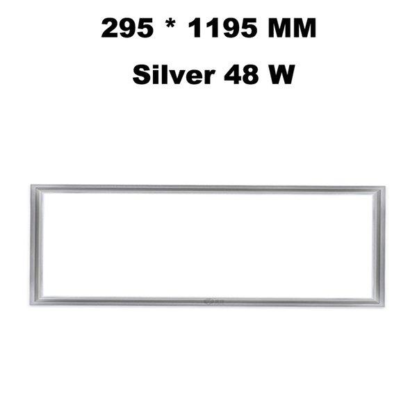 295 * 1195 MM Silver 48 W