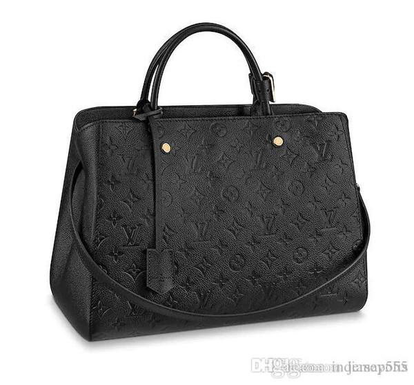 Monogram Borse Borse da lavoro MONTAIGNE GM BB Borsa 2019 moda di marca di lusso borse griffate borsa portafoglio portafoglio Borse di alta qualità