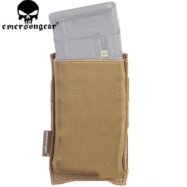 Emerson Tactical Fast Draw MOLLE / PALS EmersonGear Hochgeschwindigkeits-Single Open Top 5,56 Gewehrmagazin Mag Pouch Holst Hunting Bag # 324578