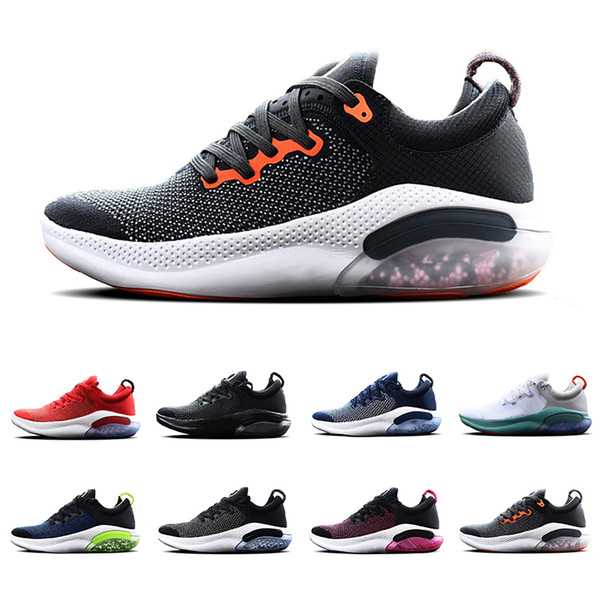 Nike Joyride Flyknit shoes  2019 JOY RUN FK RIDE Running Shoes 360 Degree Comfort Dynamic cushioning Light Racer Blue Platinum Tint Black Men women sports sneakers