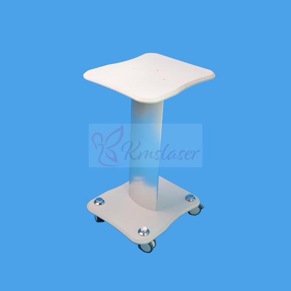 4Models ABS Pedestal Rolling Cart Salon Stand Trolley Styling Spa Cart for Ultrasonic Cavitation RF HIFU Face Lifting Machine