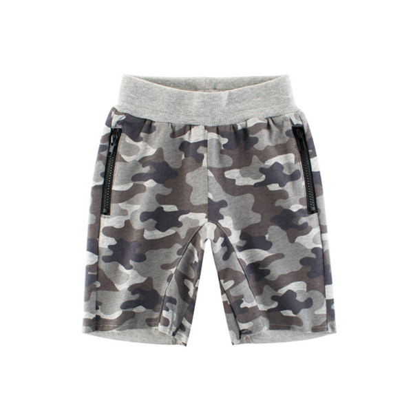 Children's wear new summer fashion camouflage pants wholesale children's trousers boys'five-cent pants