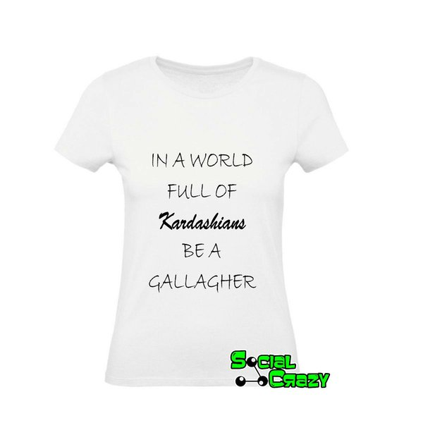 meet b288d 1c163 T Shirt DONNA SHAMELESS Serie Tv Fiona Gallagher Funny Unisex Casual Tshirt  Top Best T Shirts Shirts Online From Thebestoree, $10.28| DHgate.Com