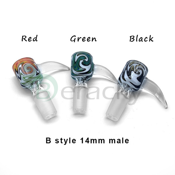 B Style 14mm Male(Color Random Send)