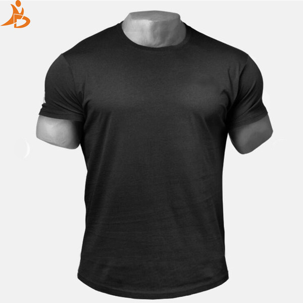 Custom Logo 2018 New Men's Running T shirt Quick Dry Comprssion Shirt Gym Training Sport Shirt Men Basketball Jesery Sportswear C18112201