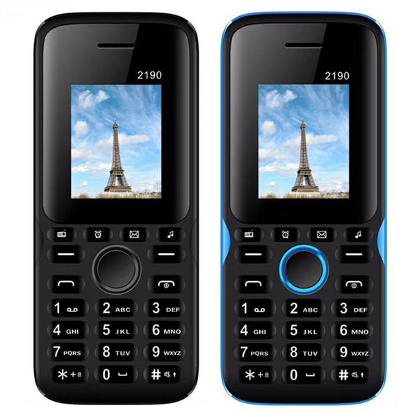 2190 Smart Phone Dual Sim 1.77in Screen 64MB/32MB Support GPRS Wap Whatsapp MP3 MP4 Music Bluetooth 8W Camera Cellphone Anti-fall