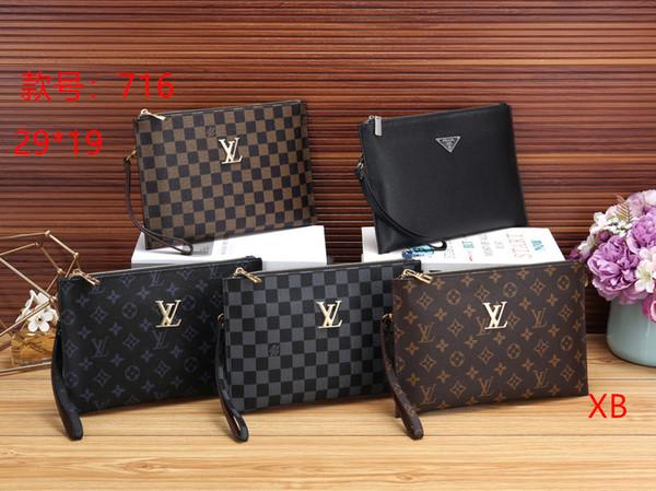 2019 Fashion Brand Shoulder Bags man Genuine Leather briefcases men handbag bolsas messenger bag men wedding dress crossbody bag