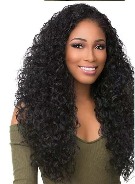 2020 Curly Density Full Lace Human Hair Wig