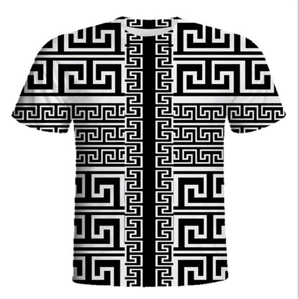 MC 2018-2019 newest G Fashion casual men's Brand wolf Tshirt Male Short Sleeve T Shirt O-Neck medusa Men Shark black cat Tee Homme T Shirts