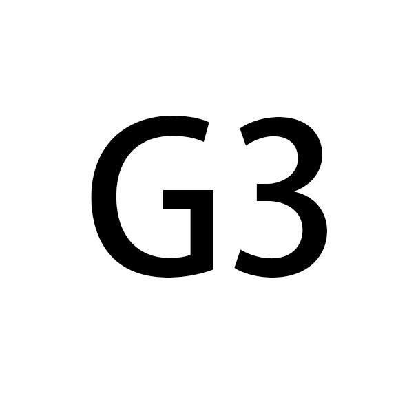 3.4CM الذهب G الإبزيم 124